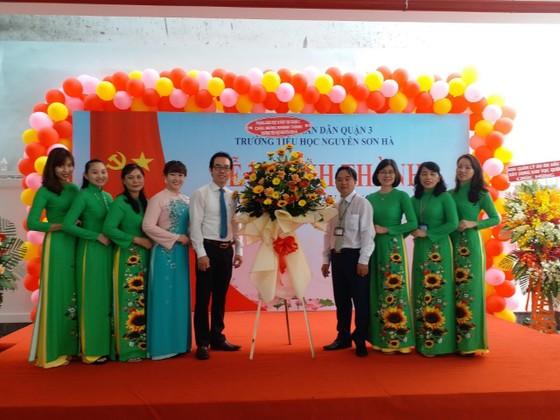 Quận 3 khánh thành trường Tiểu học Nguyễn Sơn Hà ảnh 1
