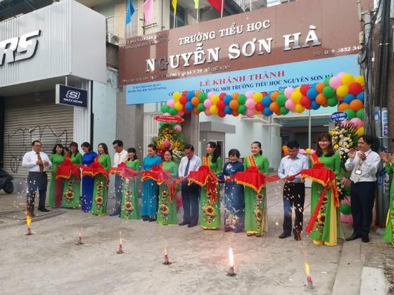 Quận 3 khánh thành trường Tiểu học Nguyễn Sơn Hà ảnh 2