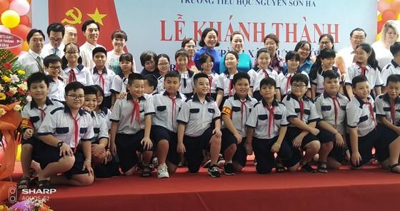 Quận 3 khánh thành trường Tiểu học Nguyễn Sơn Hà ảnh 3