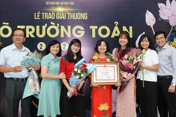 Giải thưởng Võ Trường Toản lần thứ 23 năm 2020 tôn vinh 50 nhà giáo tiêu biểu của TPHCM ảnh 7