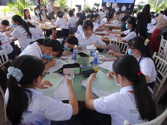 162 học sinh THCS tham gia Hội thi 'Văn hay chữ tốt' lần thứ 21, năm học 2020-2021 ảnh 6