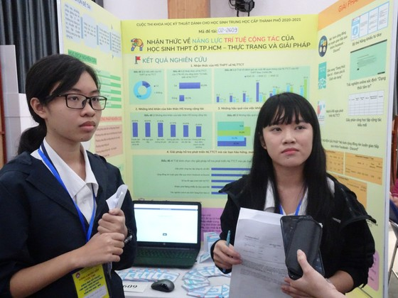 TPHCM: 50 đề tài nghiên cứu tham gia tranh tài tại cuộc thi Khoa học kỹ thuật cấp TP  ảnh 1