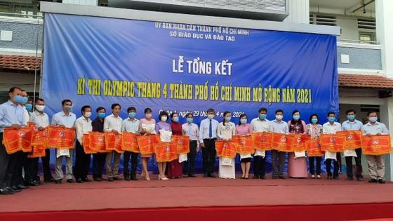Gần 5.700 học sinh được trao huy chương tại kỳ thi Olympic tháng 4 TPHCM  ảnh 1
