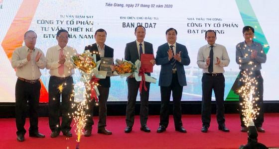 Triển khai xây dựng Dự án cầu Mỹ Thuận 2 và đường dẫn hai đầu cầu ảnh 4
