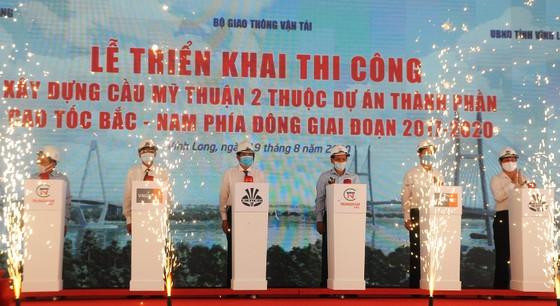 Chính thức thi công xây dựng cầu Mỹ Thuận 2 vượt sông Tiền, vốn đầu tư hơn 5.000 tỷ đồng ảnh 1