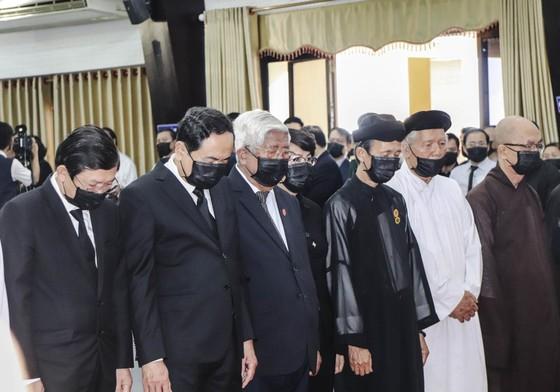 Lễ viếng nguyên Phó Thủ tướng Trương Vĩnh Trọng tại Bến Tre và Hà Nội ảnh 5