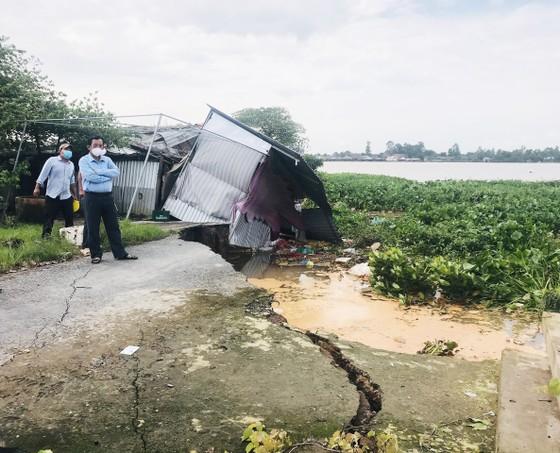 Bến Tre: Sạt lở nghiêm trọng ở cồn Phú Đa ảnh 2