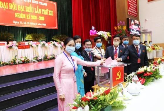Đồng chí Vũ Ngọc Tuất tái đắc cử Bí thư Quận ủy quận Bình Thạnh ảnh 1