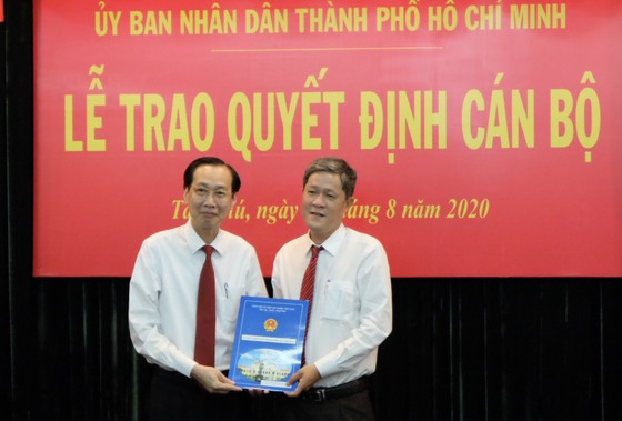 Quận Tân Phú có tân Chủ tịch UBND  ảnh 2
