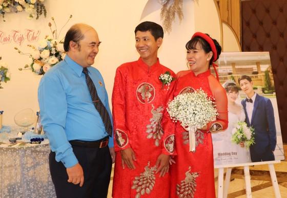 Lễ cưới tập thể của công nhân khó khăn ảnh 3