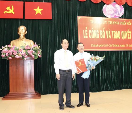 Đồng chí Đinh Khắc Huy làm Phó Bí thư Quận ủy quận Bình Thạnh ảnh 1