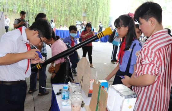 350 đoàn viên tham gia Hội trại 'Tiếng mõ Nam Lân' ảnh 2