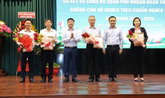 Quận Phú Nhuận không còn hộ nghèo ảnh 2