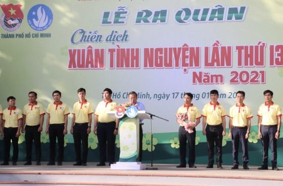 Tuổi trẻ TPHCM ra quân tình nguyện mùa xuân ảnh 3