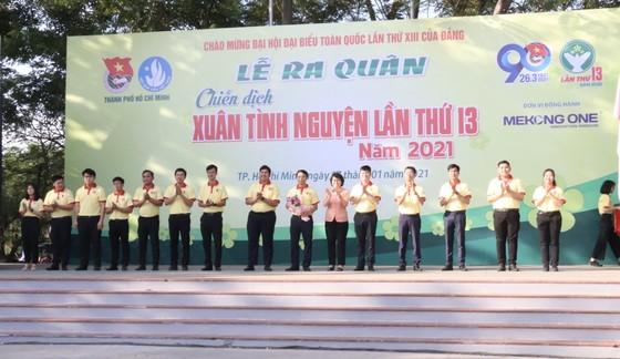 Tuổi trẻ TPHCM ra quân tình nguyện mùa xuân ảnh 2