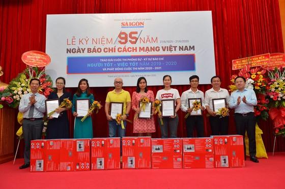 Báo SGGP đoạt 8 giải báo chí TPHCM năm 2021 ảnh 1