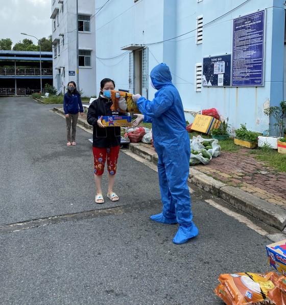 Hàng chục tấn thực phẩm, nông sản từ các tỉnh ủng hộ công nhân lao động tại TPHCM ảnh 3