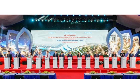 Thủ tướng bấm nút khởi công xây dựng Cảng Hàng không quốc tế Long Thành ảnh 1