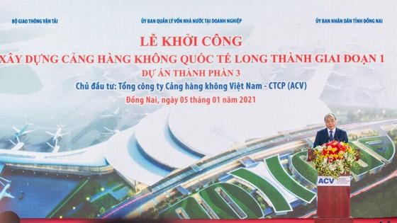 Thủ tướng bấm nút khởi công xây dựng Cảng Hàng không quốc tế Long Thành ảnh 2