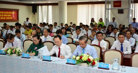 Đồng chí Nguyễn Văn Hiếu làm Bí thư Thành ủy TP Thủ Đức, đồng chí Hoàng Tùng làm Chủ tịch UBND TP Thủ Đức ảnh 11