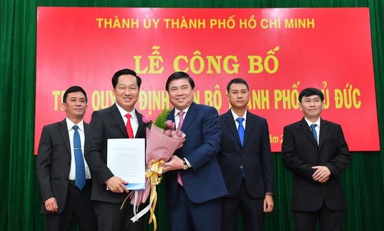 Đồng chí Nguyễn Văn Hiếu làm Bí thư Thành ủy TP Thủ Đức, đồng chí Hoàng Tùng làm Chủ tịch UBND TP Thủ Đức ảnh 3