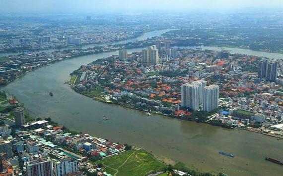 建筑规划厅提出多项创意以开拓西贡河沿岸劳务。