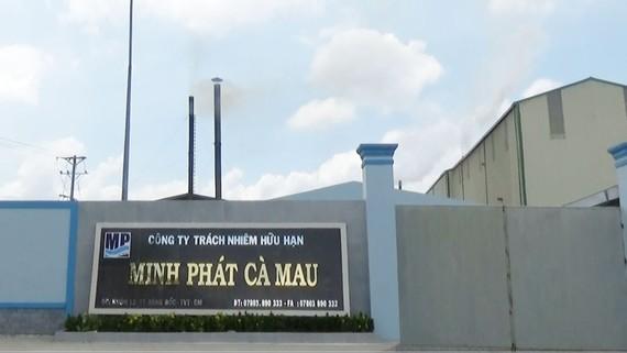Một nhà máy tại thị trấn Sông Đốc bị phạt vì vi phạm môi trường