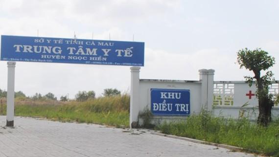 Trung tâm y tế huyện Ngọc Hiển