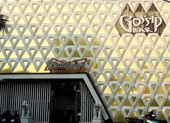 Bar Gossip Thiên Văn ở TP Cà Mau. Ảnh: TẤN THÁI