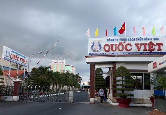 Trụ sở Công ty thủy sản Quốc Việt