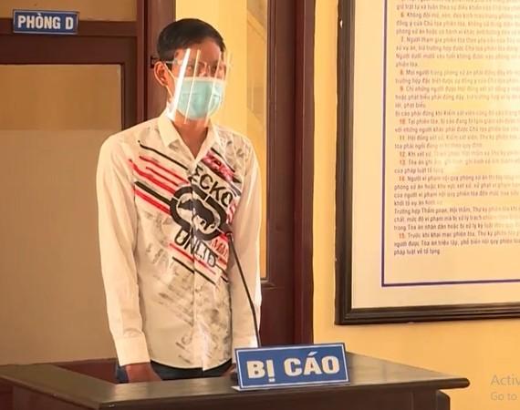 Bị cáo Nguyễn Chí Hiếu Minh Thanh tại tòa