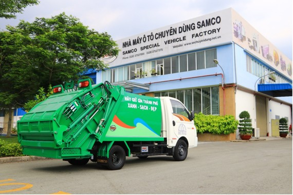 Nhà máy ô tô chuyên dùng Samco