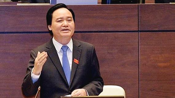 Bộ trưởng Phùng Xuân Nhạ cho rằng ngành giáo dục chỉ được trực tiếp chi 5% kinh phí dành cho giáo dục