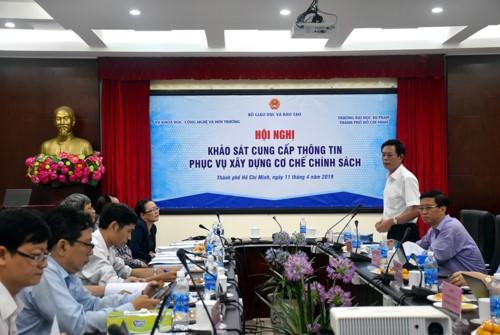 Hội nghị Khảo sát của Bộ GD-ĐT