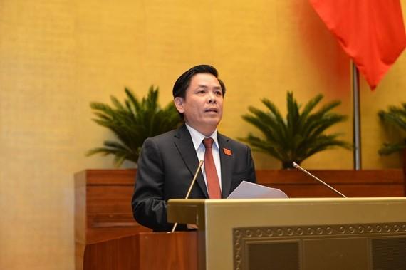 Bộ trưởng Bộ GT-VT Nguyễn Văn Thể. Ảnh: VIẾT CHUNG
