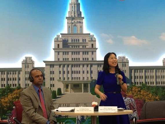 Bà Lê Mai Lan, Phó Chủ tịch Tập đoàn Vingroup chia sẻ về con đường xây dựng ĐH tinh hoa