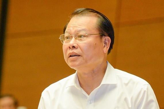 Ông Vũ Văn Ninh, nguyên Phó Thủ tướng Chính phủ nhiệm kỳ 2011 - 2016 bị kỷ luật cảnh cáo