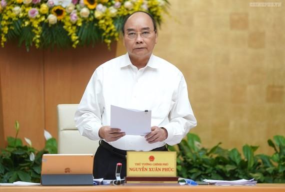 Thủ tướng chủ trì họp Chính phủ, ảnh VGP