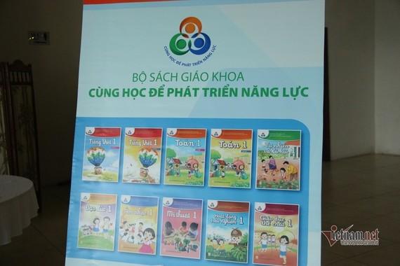 Một trong 4 mẫu SGK lớp 1 của NXB Giáo dục Việt Nam