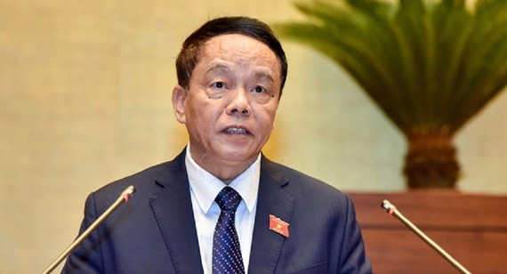Chủ nhiệm Ủy ban Quốc phòng và An ninh Võ Trọng Việt