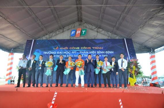 Khởi công xây dựng phân hiệu trường Đại học FPT tại Bình Định