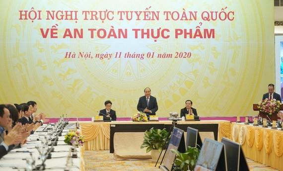 Chính phủ tổ chức hội nghị về an toàn thực phẩm