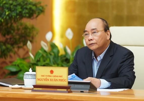 Thủ tướng kết luận cuôc họp ngày 23-3. Ảnh VGP