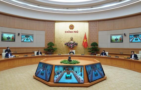 Thường trực Chính phủ họp về phòng chống dịch Covid-19