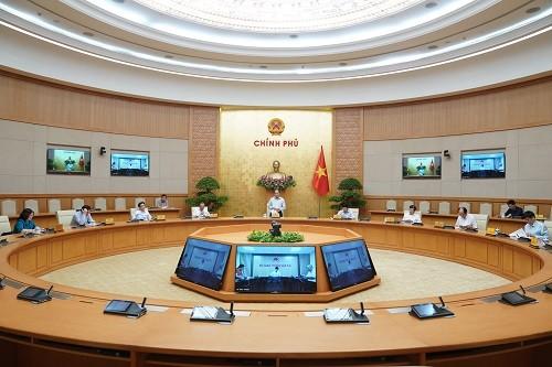 Cuộc họp Thường trực Chính phủ về công tác phòng, chống dịch Covid-19  ngày 15-5