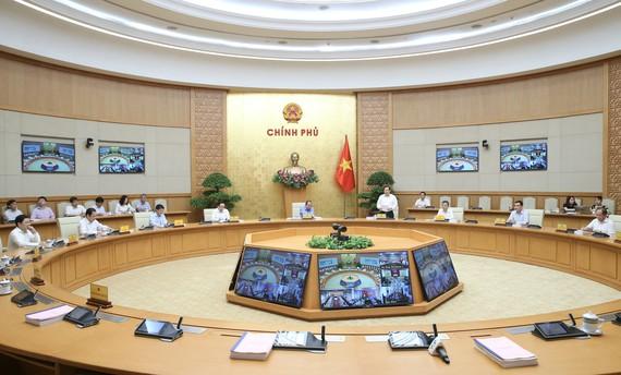 Hội nghị về cải cách hành chính ngày 19-5. Ảnh: QUANG PHÚC
