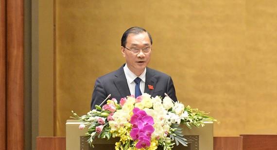 Chủ nhiệm Ủy ban Kinh tế của Quốc hội Vũ Hồng Thanh. Ảnh: QUOCHOI
