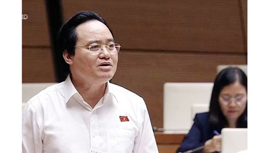 Bộ trưởng GD-ĐT Phùng Xuân Nhạ. Ảnh minh họa