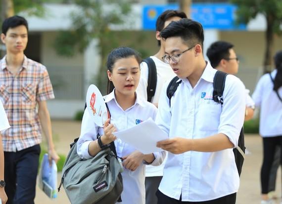 Học sinh tham gia thi THPT năm 2019. Ảnh: QUANG PHÚC