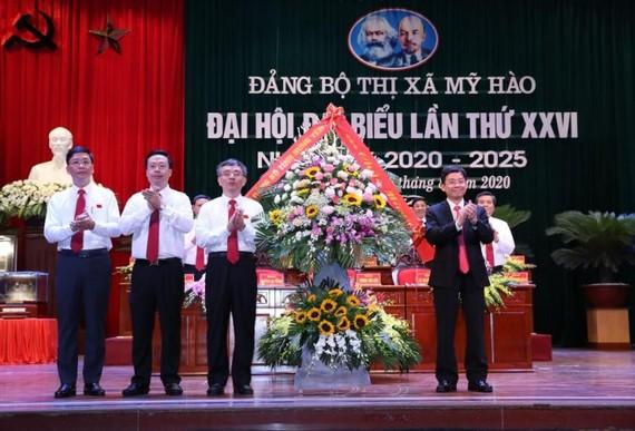 Đại hội Đảng bộ Thị xã Mỹ Hào, tỉnh Hưng Yên